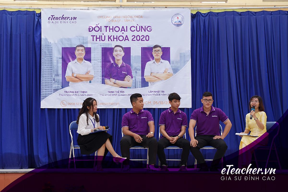 Đối thoại thủ khoa 2020 Lê Trọng Tấn