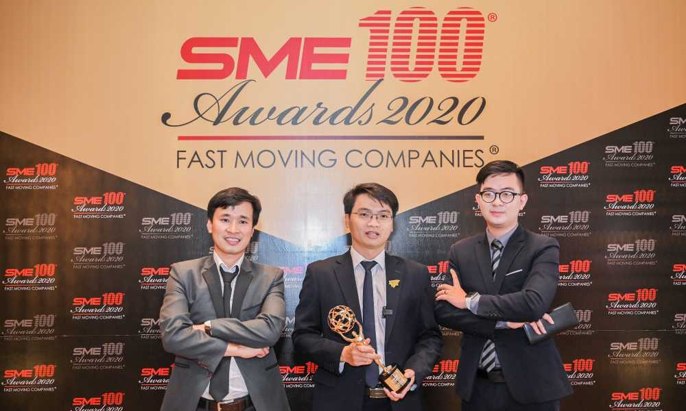 hành trình 5 năm trở thành doanh nghiệp SME xuất sắc châu Á