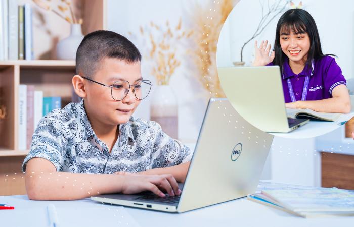 Đăng ký học online 1 kèm 1 cùng Gia sư eTeacher